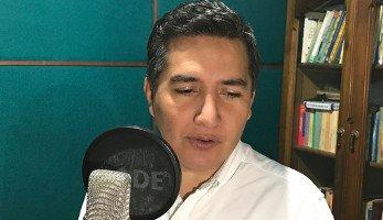 Locutor colombiano Luis Eduardo T
