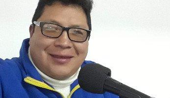 Locutor peruano Ángel M