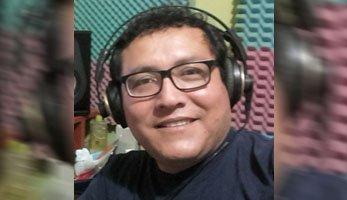 Locutor peruano Hilbert V