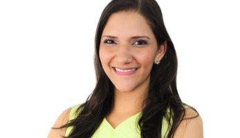 Locutora colombiana Sandra D