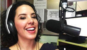 Locutora guatemalteca Beatriz D