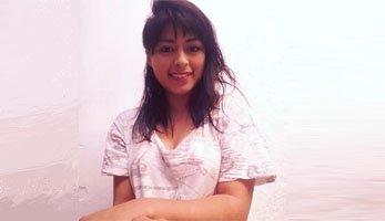 Locutora guatemalteca Sandra P