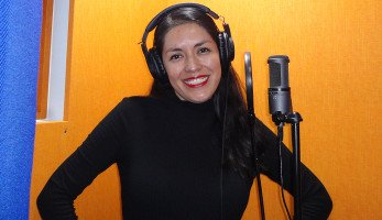 Locutora mexicana Carmen F