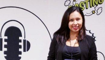 Locutora mexicana Karina M