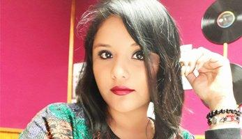 Locutora mexicana Sofia R
